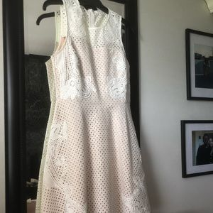 Endless Rose white dress